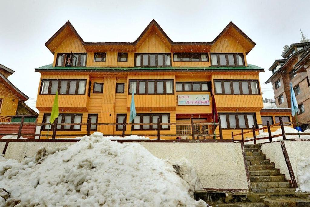 Hotel Affarwat during the winter