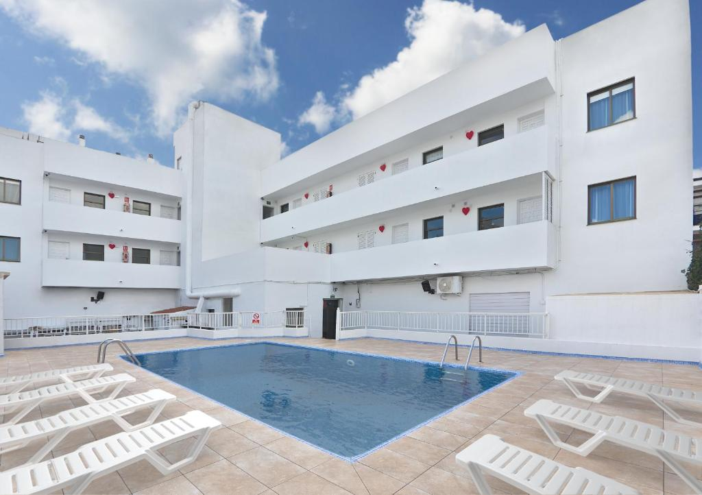 The swimming pool at or near All Suite Ibiza Aparthotel