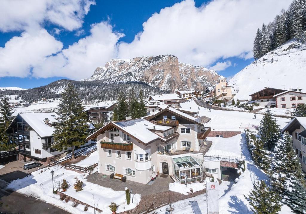 Villa David Dolomites durante l'inverno