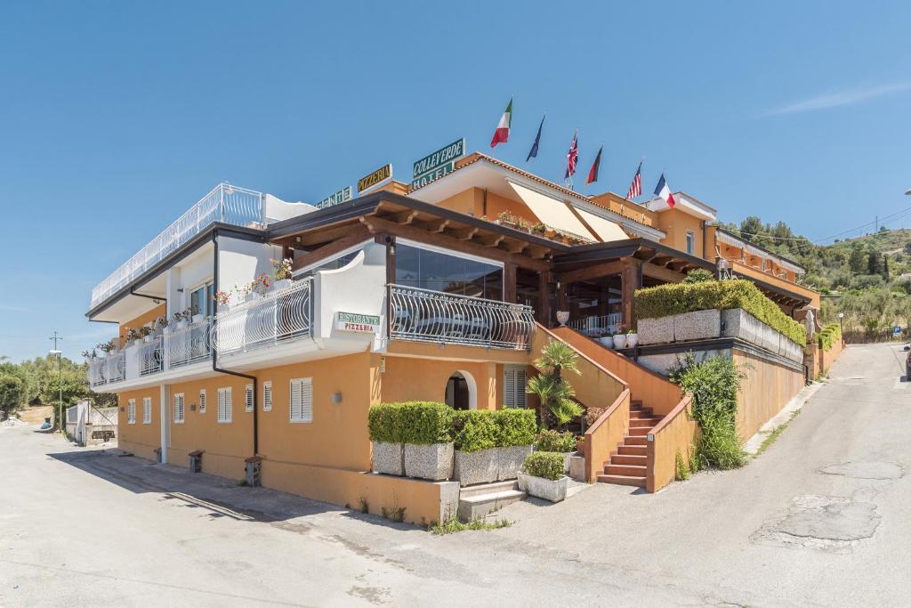 Hotel Ristorante il Colleverde during the winter