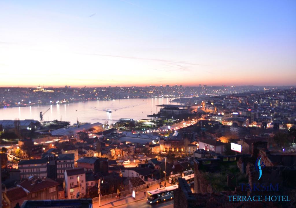 Taksim Terrace Hotel с высоты птичьего полета