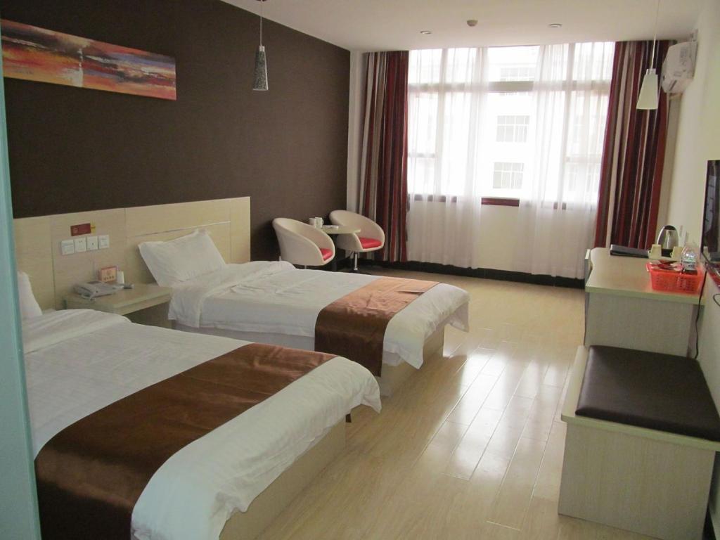 Thank Inn Chain Hotel Jiangxi Yichun Fengcheng Guomao
