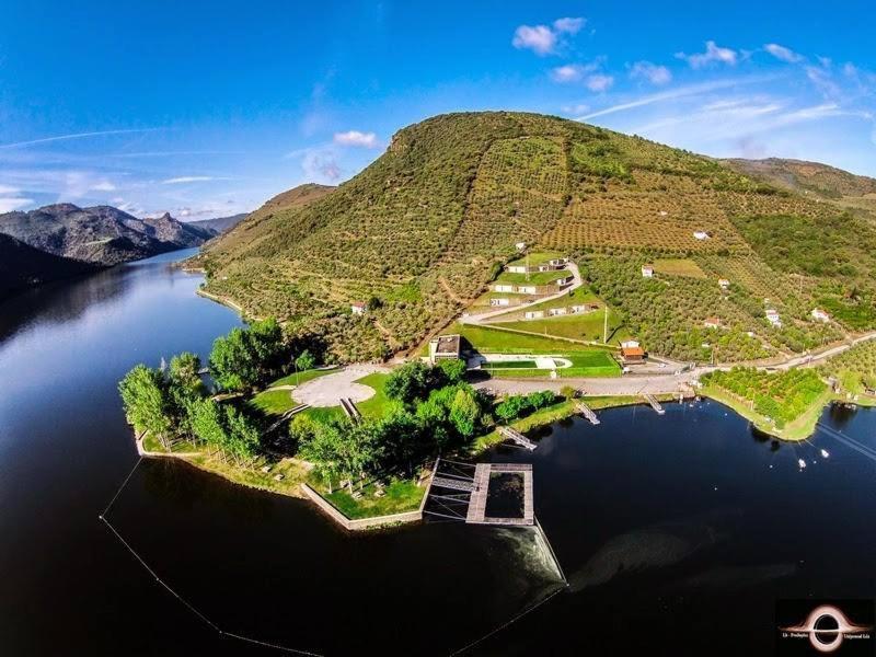 A bird's-eye view of Moradias Douro Internacional