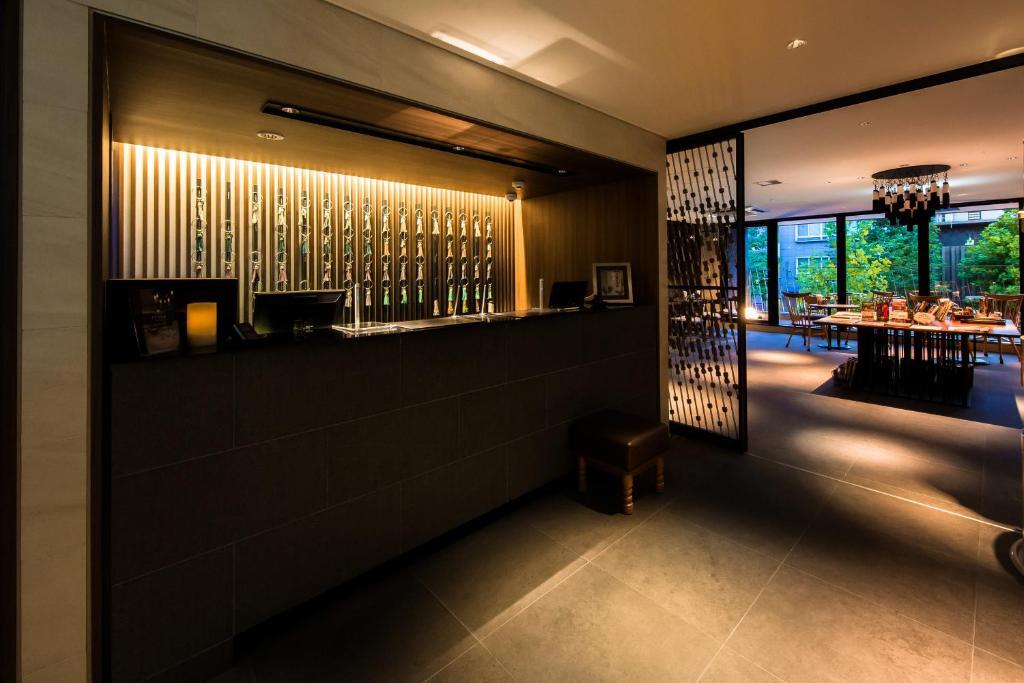 京都糸屋酒店大廳或接待區