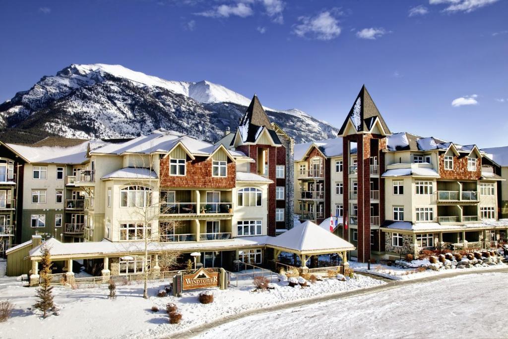 Windtower Lodge & Suites en invierno