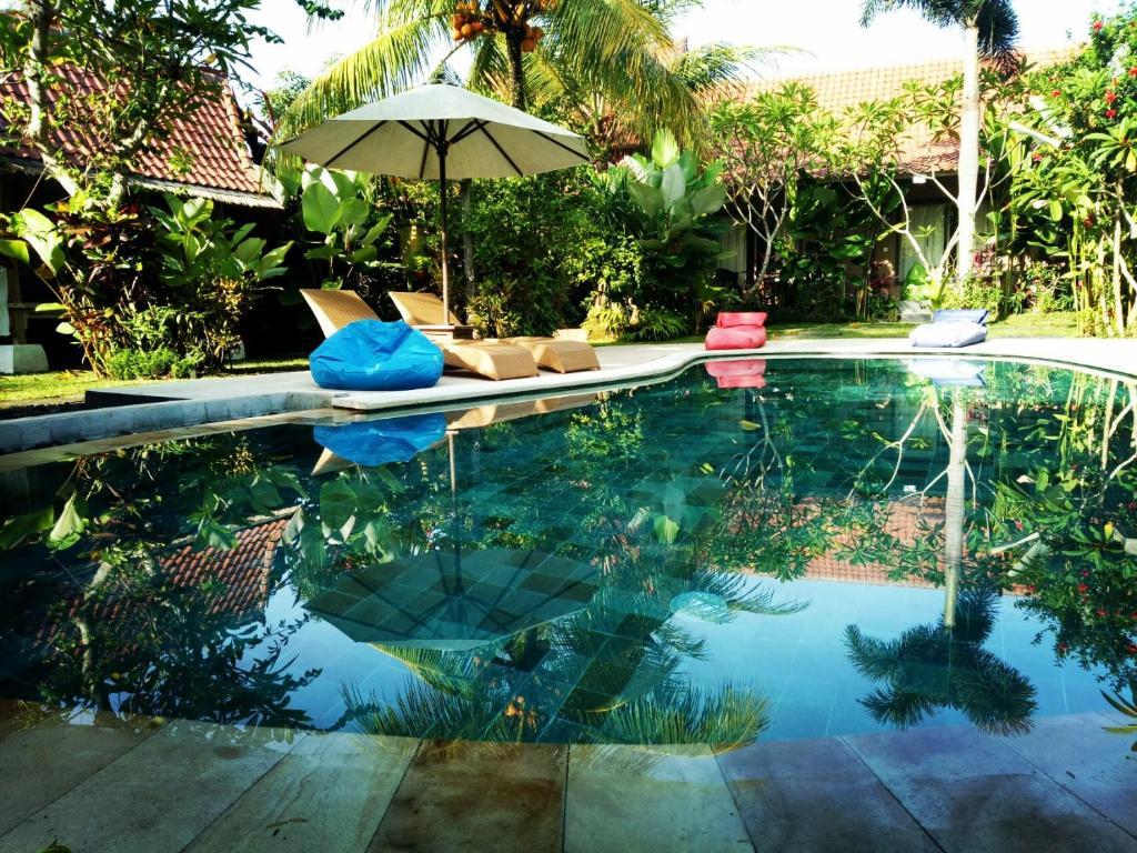 The swimming pool at or close to Baliwid Villa Ubud