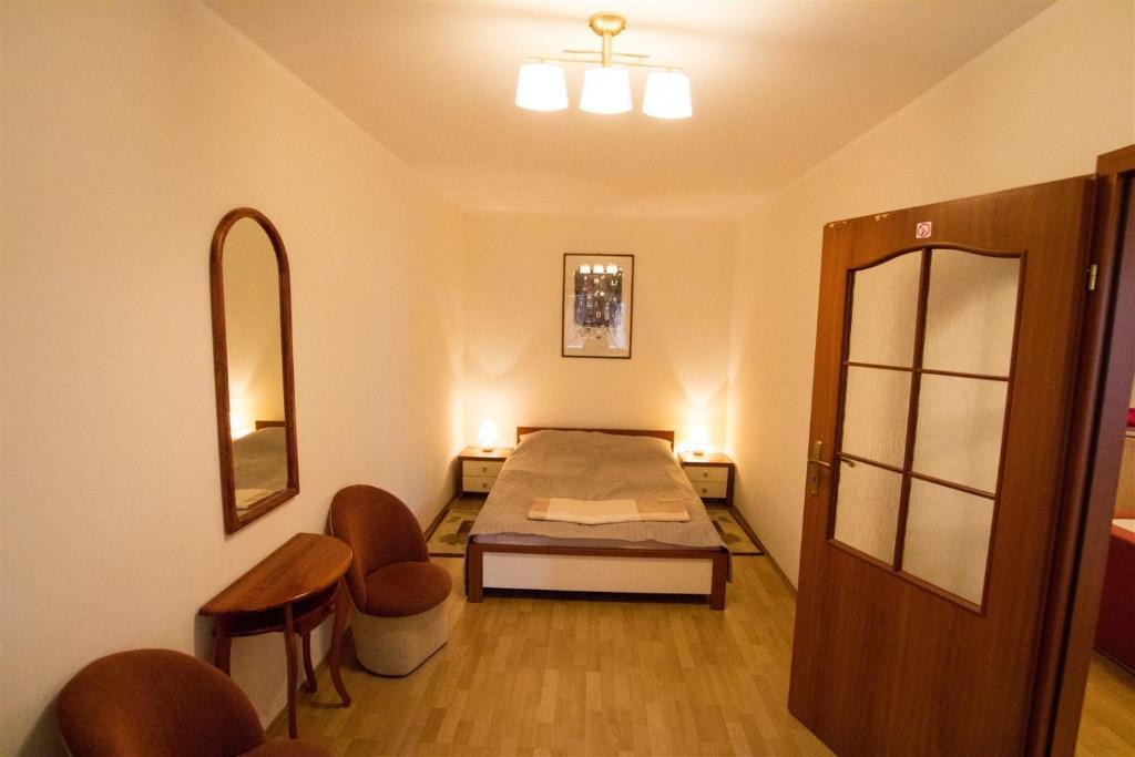 Łóżko lub łóżka w pokoju w obiekcie Baltic Apartments - Apartament Solaris