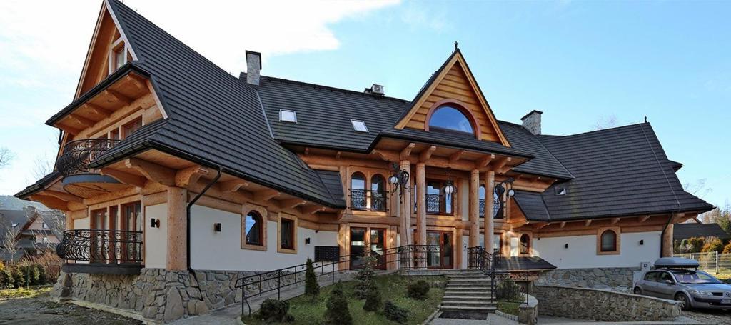 Obiekt Apartament Tatrzański Raj 2 zimą