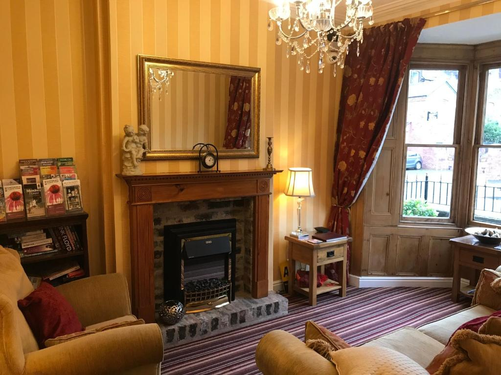 A seating area at Clayhanger Guest House
