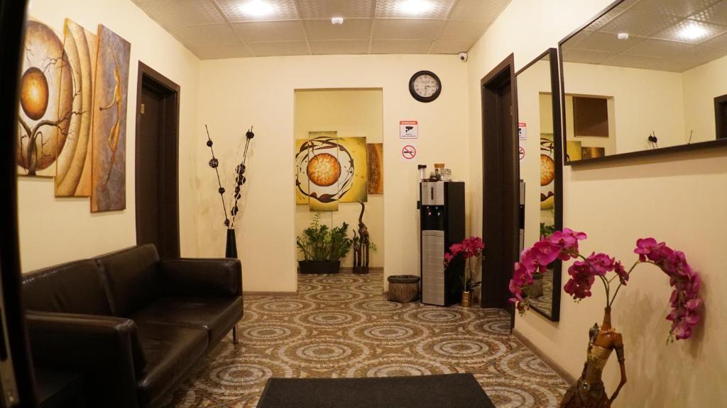 Лобби или стойка регистрации в Отель Александрия