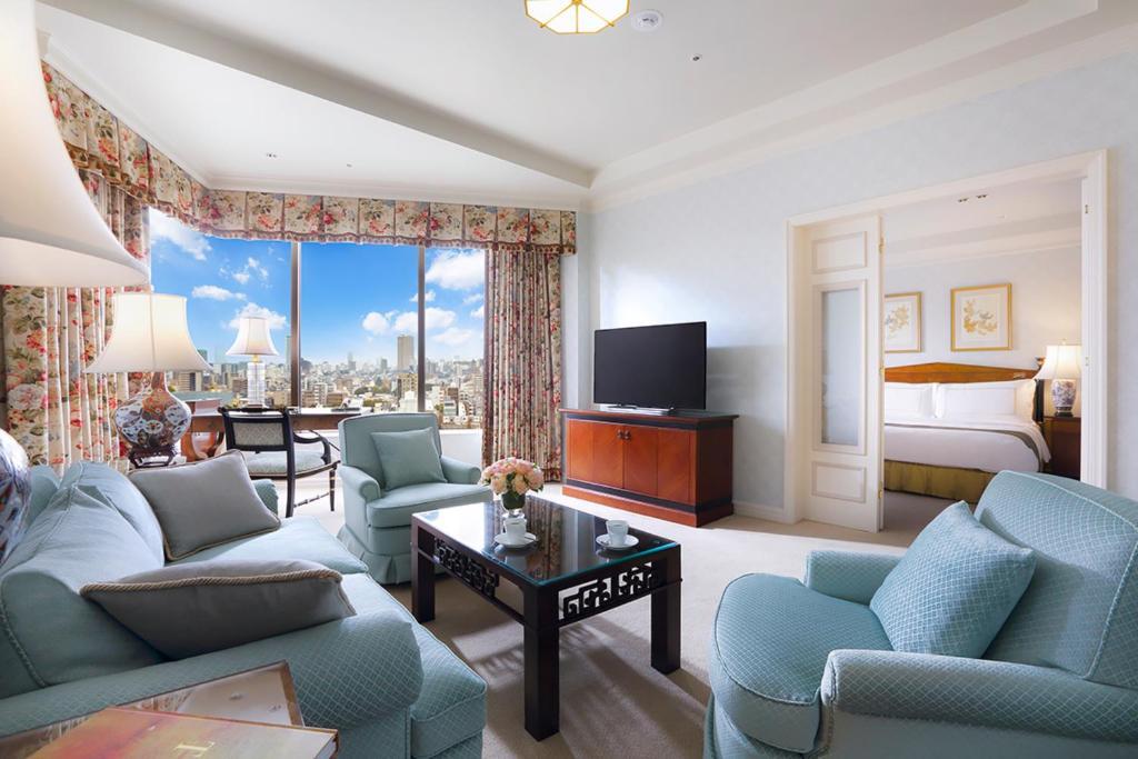 A room at the Hotel Chinzanso Tokyo.
