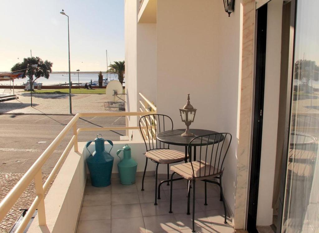 A balcony or terrace at Casa Esti
