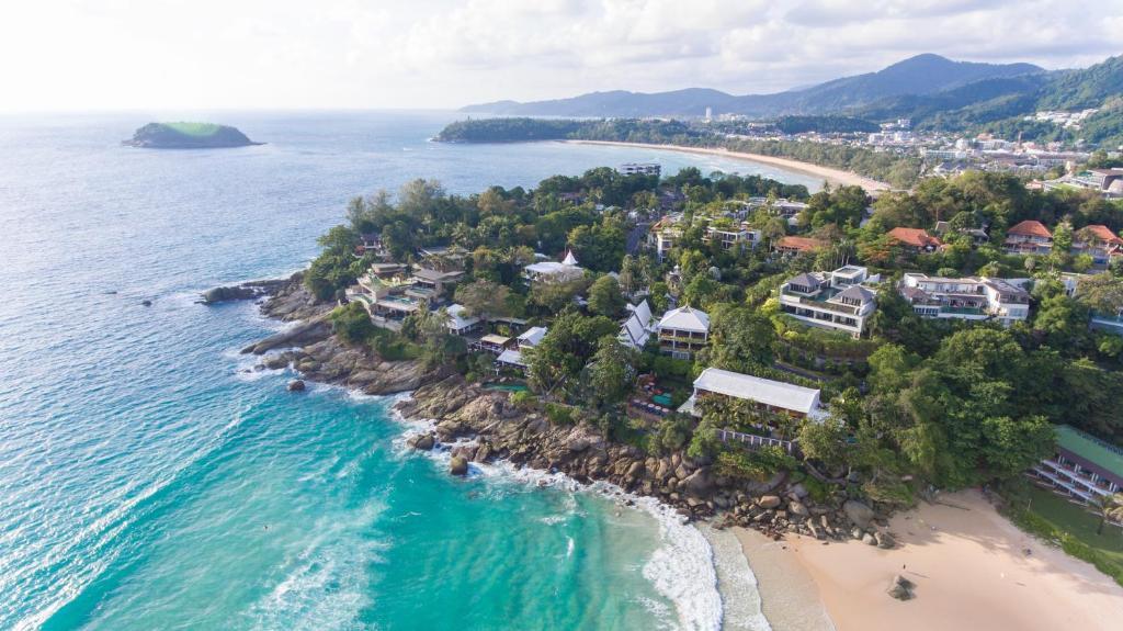 A bird's-eye view of Mom Tri's Villa Royale