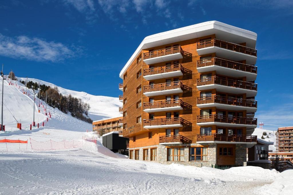 Araucaria Hotel & Spa during the winter