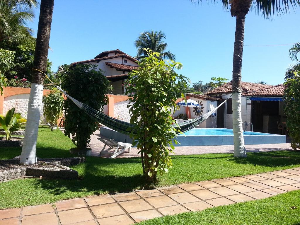 A piscina localizada em Casa Colibri ou nos arredores