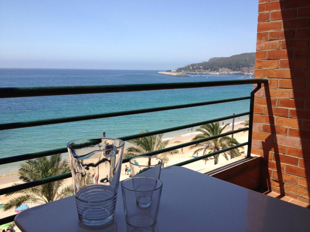 A balcony or terrace at Casa S. José