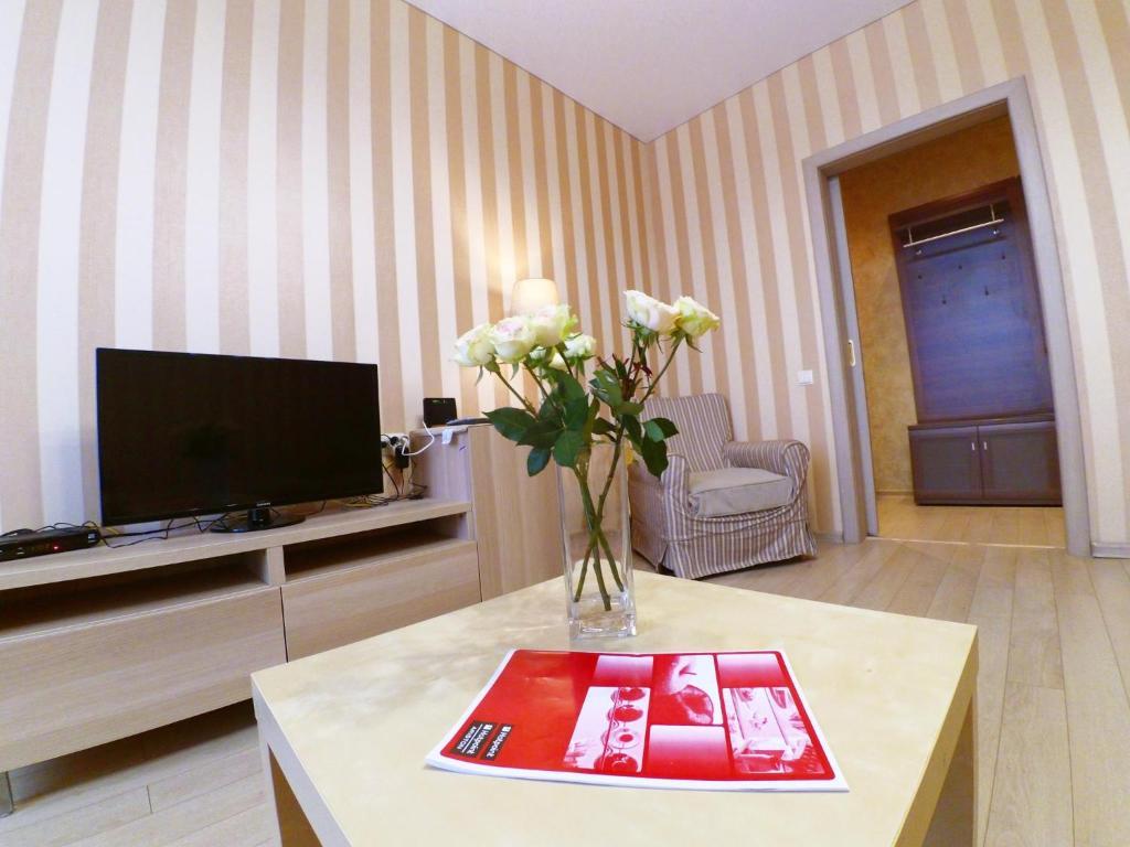 Телевизор и/или развлекательный центр в Apartments near Kremlin
