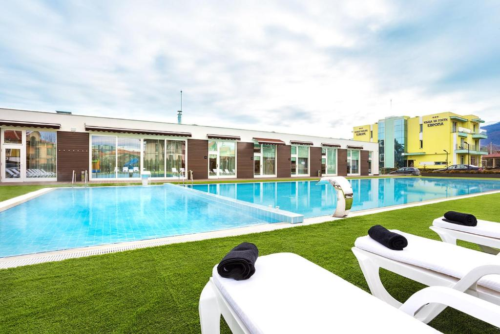 The swimming pool at or near Complex Europe