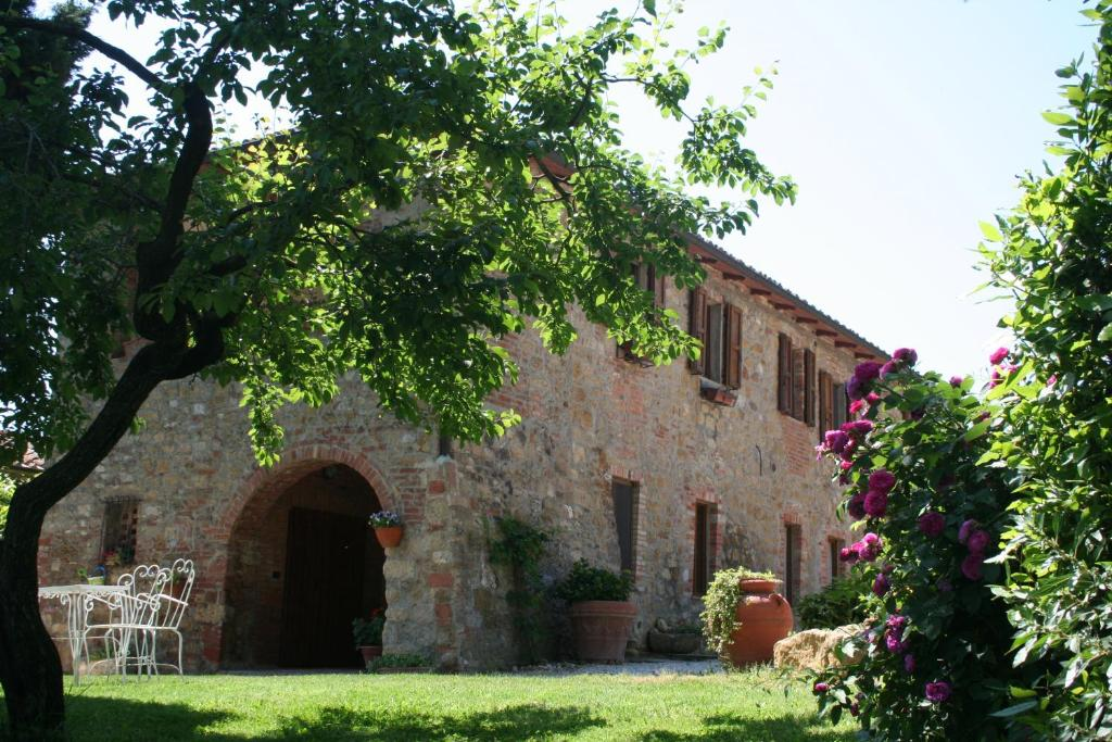 The building in which the farm stay is located