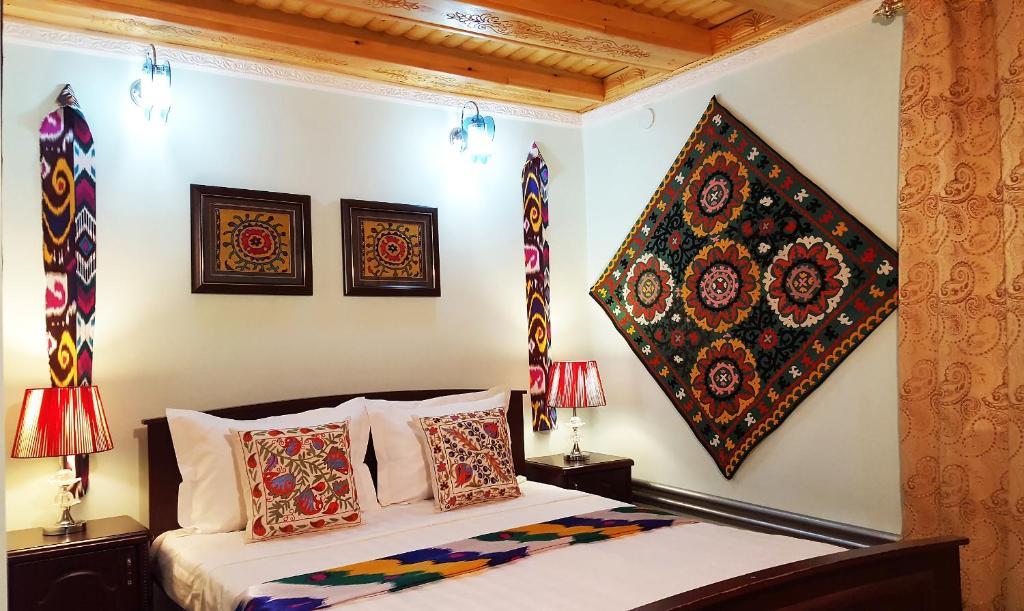 Zona de estar de Jahongir Guest House