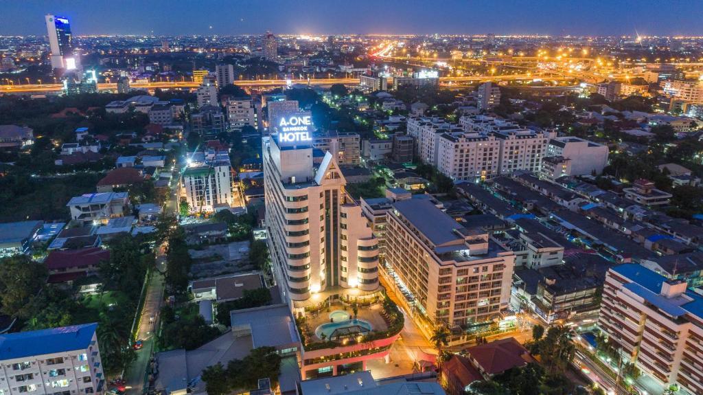 A bird's-eye view of A-ONE Bangkok Hotel