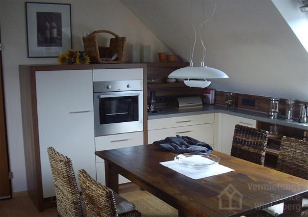 Küche/Küchenzeile in der Unterkunft Apartment Gartenstraße 15-BS