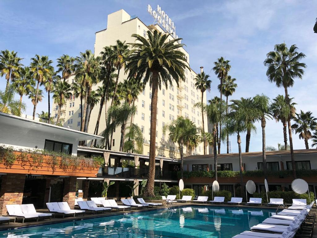 The swimming pool at or near The Hollywood Roosevelt