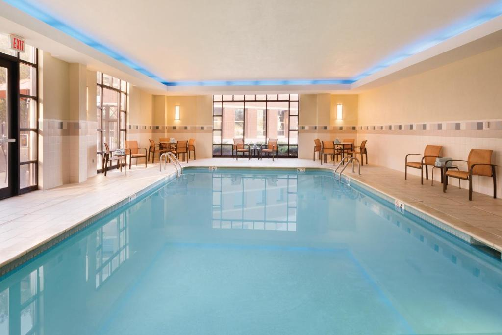 The swimming pool at or near Courtyard by Marriott Oklahoma City Downtown