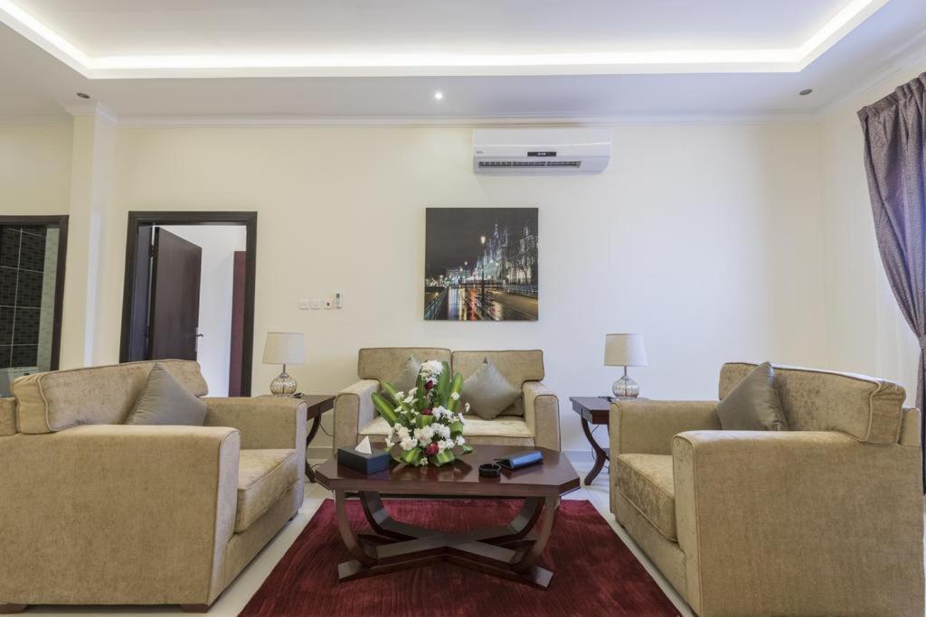 Uma área de estar em Taleen Al Naseem