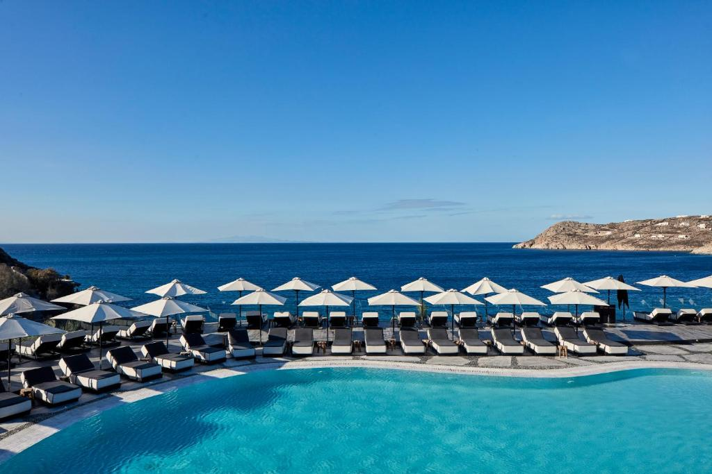 The swimming pool at or near Myconian Imperial - Leading Hotels of the World