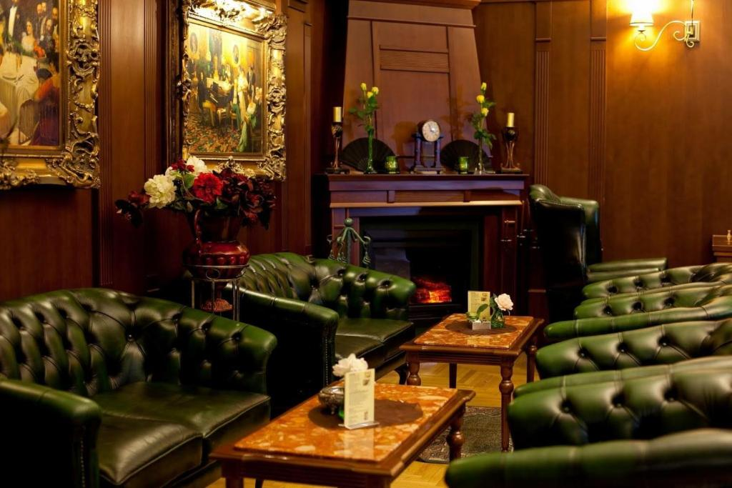 The lobby or reception area at Grand Boutique Hotel Sergijo,Adult friendly luxury hotel
