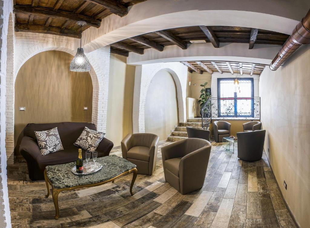 Гостиная зона в Hotel Anfiteatro Flavio