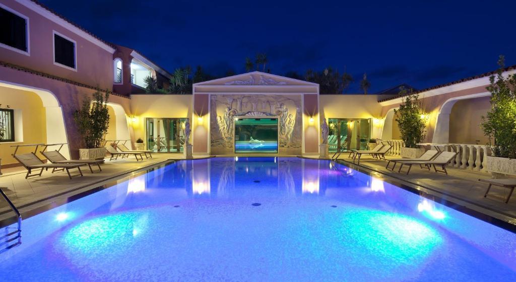 The swimming pool at or near Cala Ginepro Hotel Resort & Spa