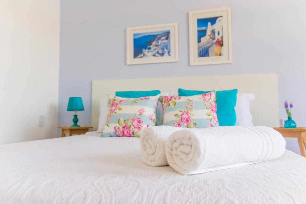Cama ou camas em um quarto em Viva Búzios Flats