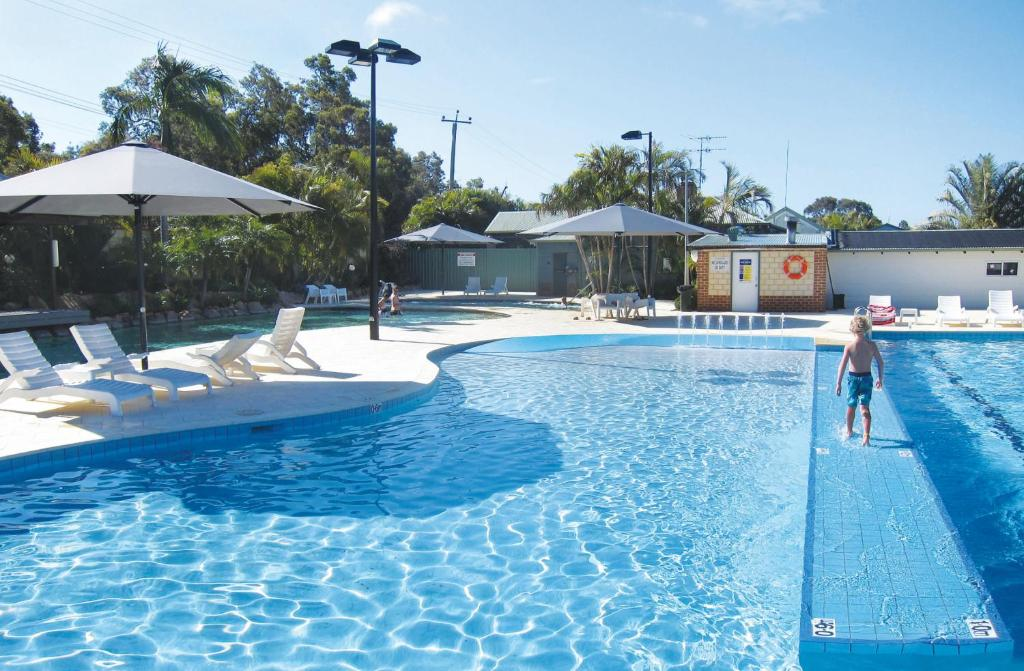 The swimming pool at or near Karrinyup Waters Resort