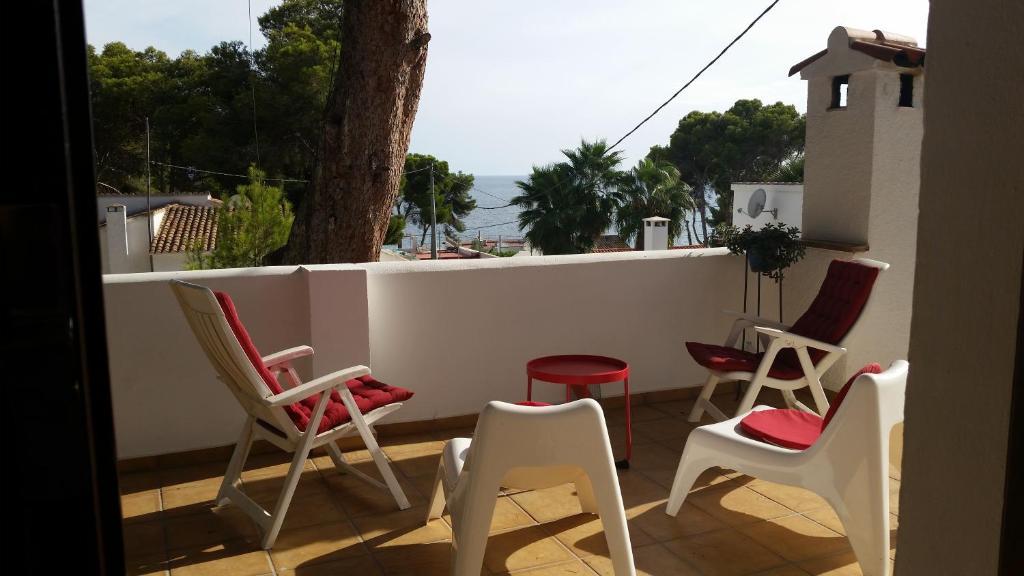 Un balcón o terraza de Casa Platgetes