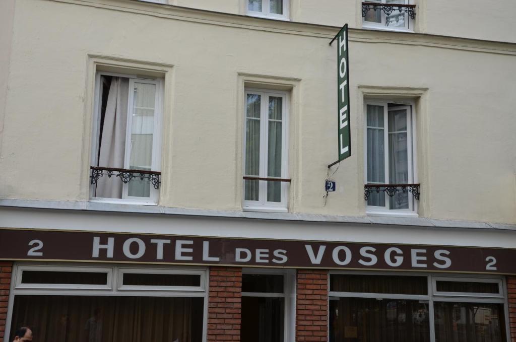 Hotel des Vosges - Laterooms