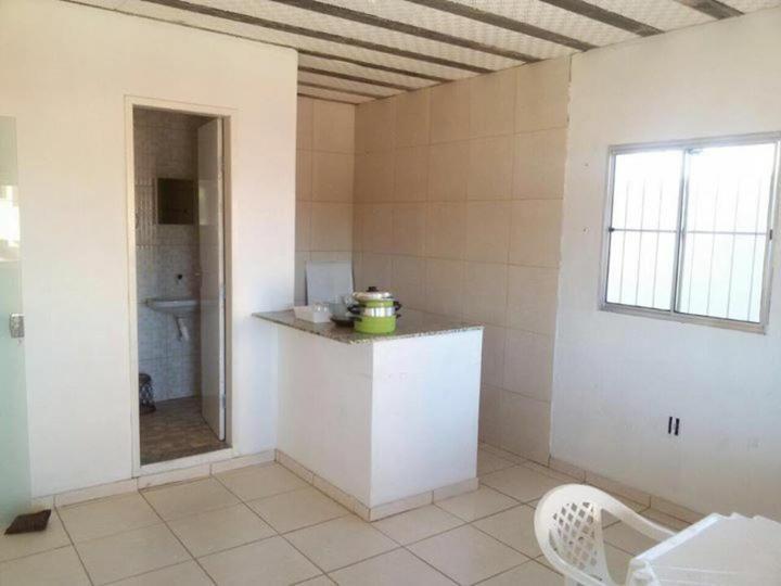A kitchen or kitchenette at Pousada do Pezão