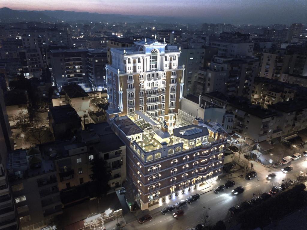 Een luchtfoto van Xheko Imperial Luxury Boutique Hotel