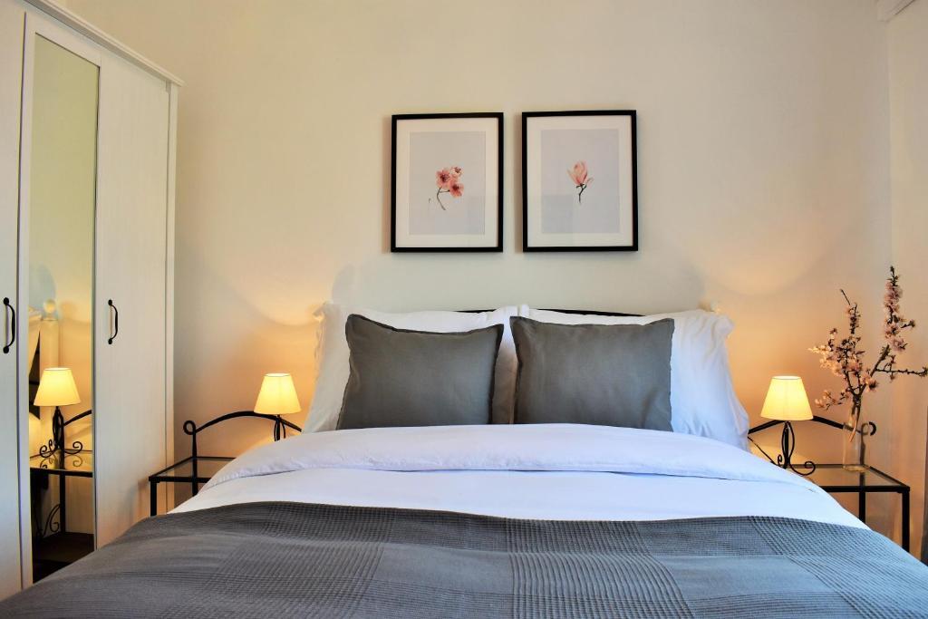 Cama o camas de una habitación en Apartment Antonija