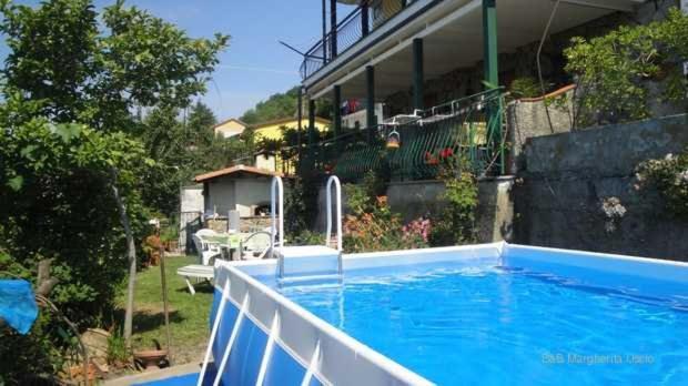 The swimming pool at or near La Margherita 2