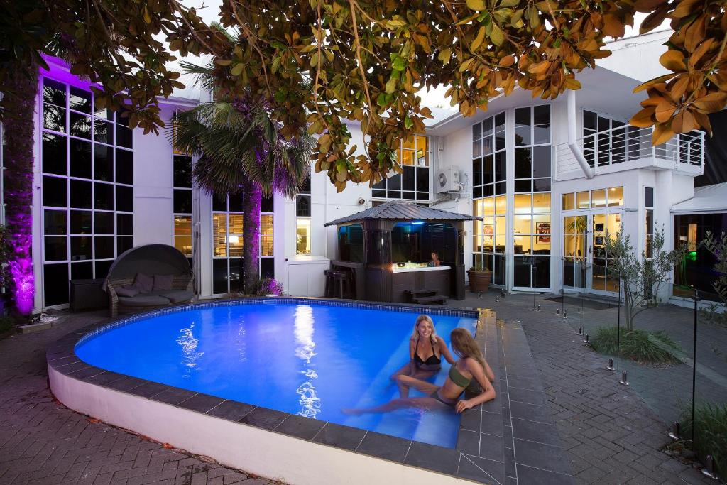 The swimming pool at or near Pavilions Hotel