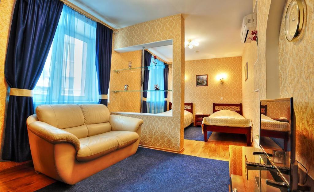 Гостиная зона в Гостиница Славия
