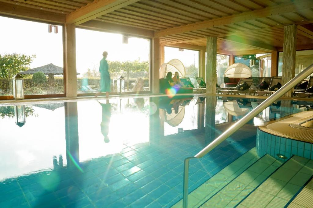 The swimming pool at or near Hotel Freund