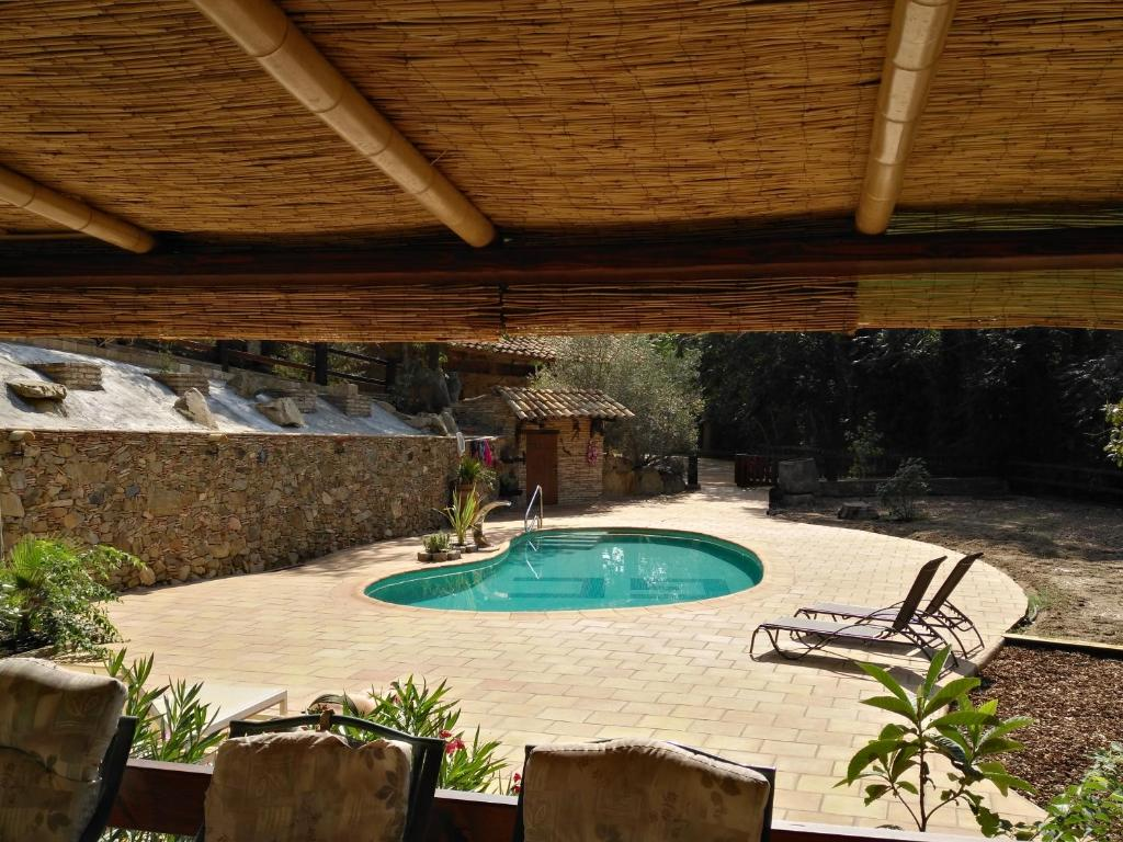 The swimming pool at or near Bike - Nature - Privacy - Tranquility - Your Meeting Place - MAS FONT - Girona