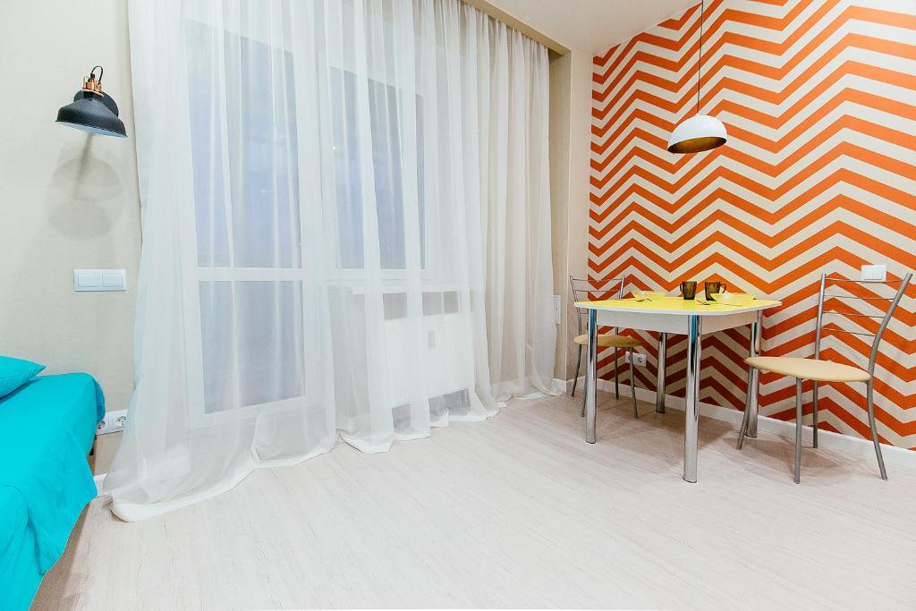 Гостиная зона в Apartment on Lytkina 31