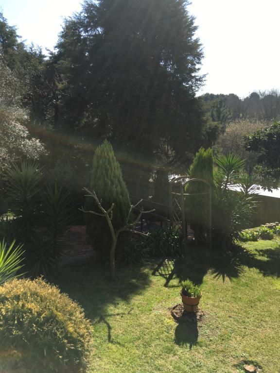 A garden outside Quinta das raparigas