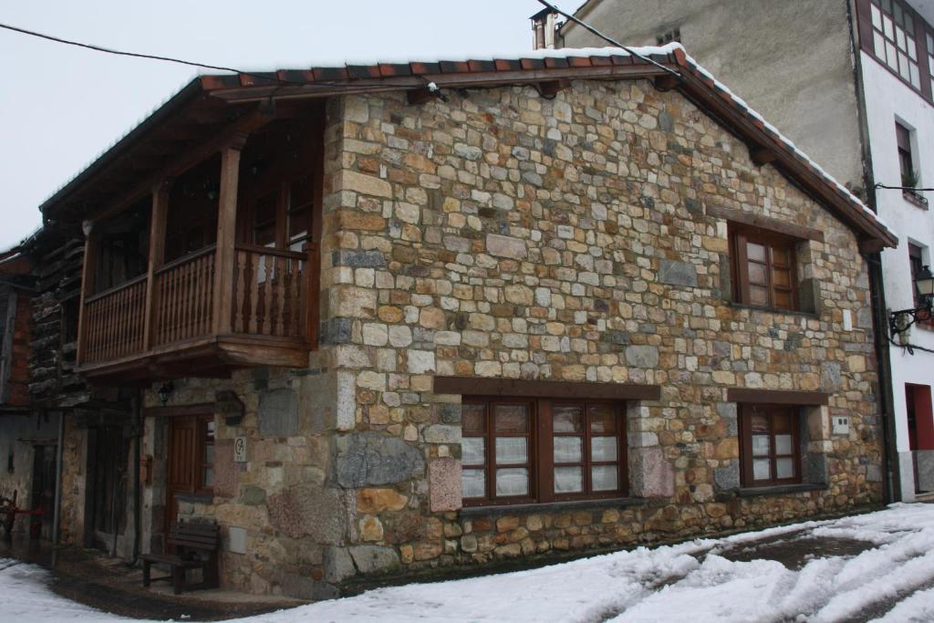 Casa el Alba durante el invierno