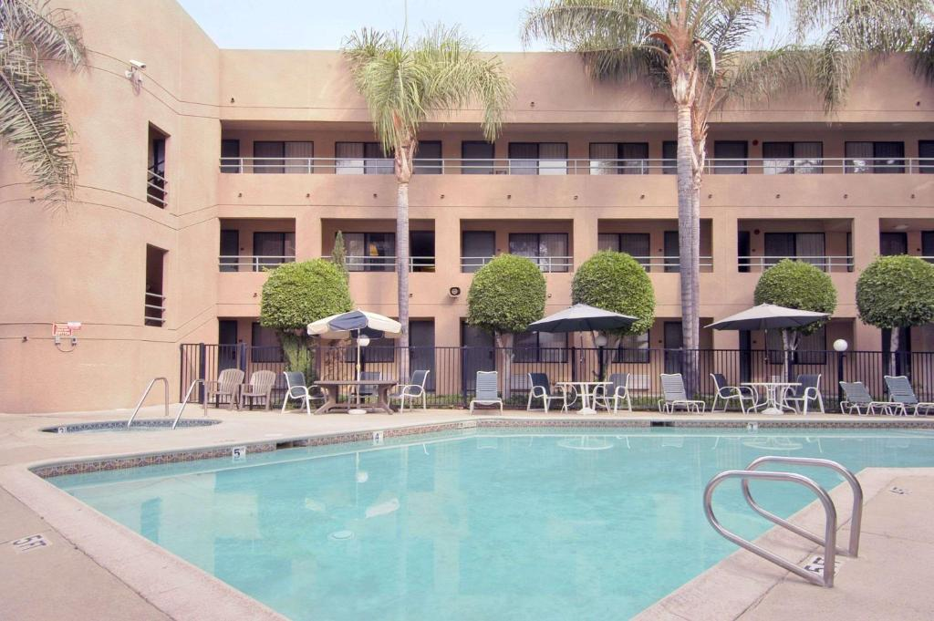 The Travelodge by Wyndham Commerce Los Angeles Area.