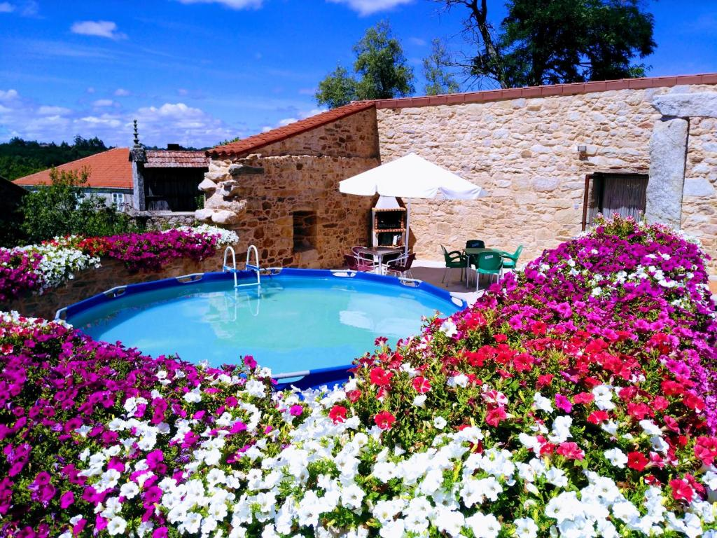 """The swimming pool at or near Remanso de Trasfontao """"Casa do Campo"""""""